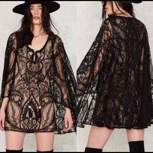 Nasty Gal Rodeo Lace Dress size XS NWT
